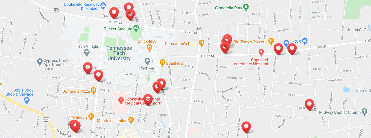 Apartments For Rent Map